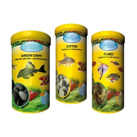 Sparset mit hochwertigem Zierfischfutter von Aquaris