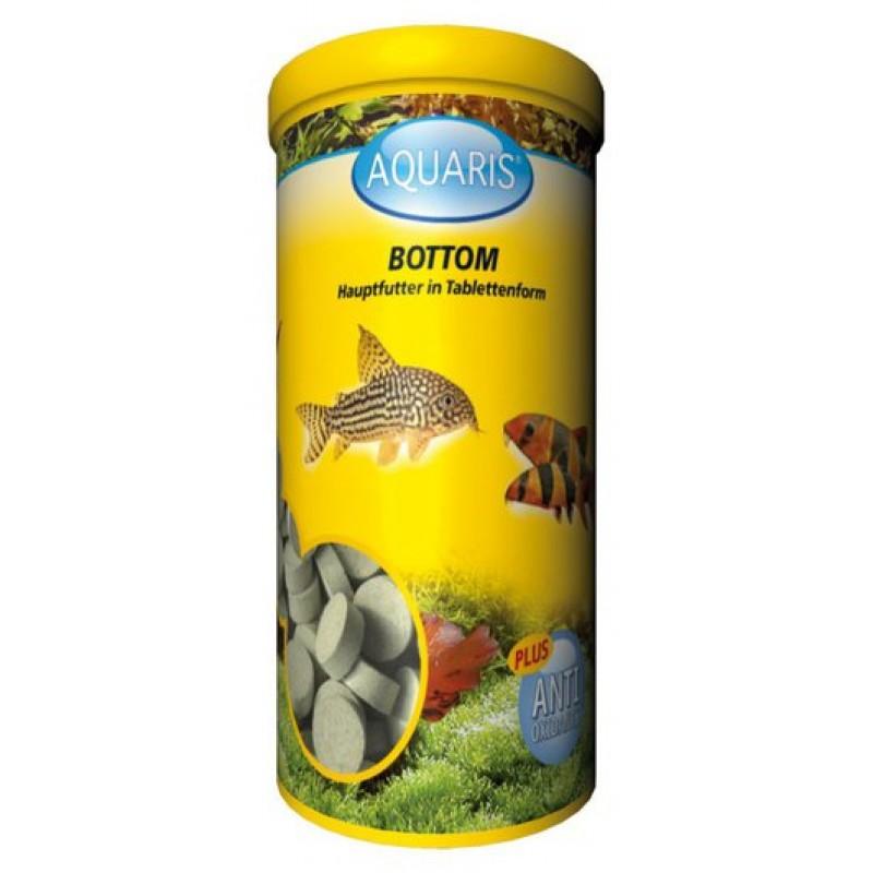 Aquarium Fischfutter - AQUARIS Bottom Tabletten - 220 Stück - 150g / 250 ml