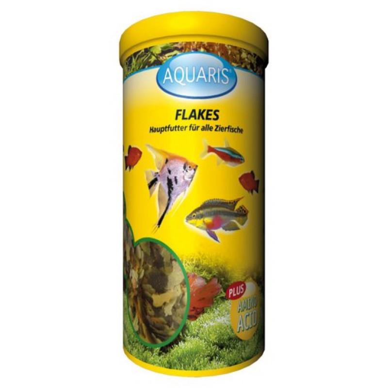 Aquarium Fischfutter - AQUARIS Flakes - 45g / 250ml