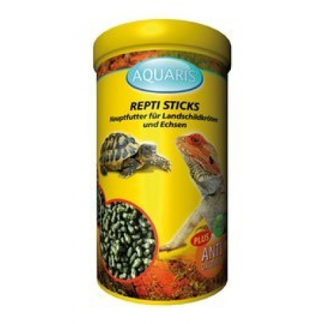 AQUARIS Repti Sticks - Schildkrötenfutter - 75g / 250ml