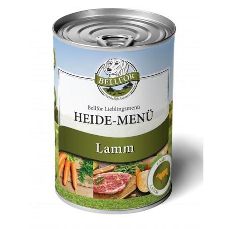 Nassfutter mit Lamm - Heide-Menü - 400g