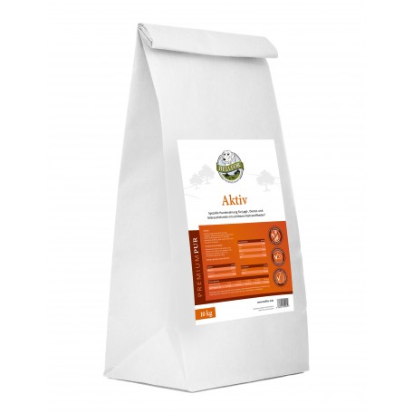 Glutenfrei Hundefutter aus Hühnerfleisch und Seefisch - PREMIUM PUR Aktiv - 2,5 kg