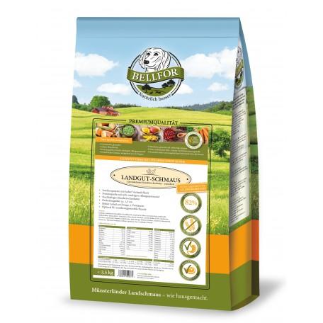 Hypoallergenes Trockenfutter mit Insektenproteinen - Landgut-Schmaus - 2,5 kg