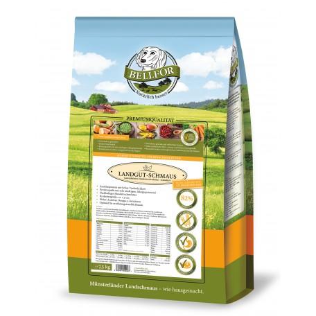Hypoallergenes Trockenfutter mit Insekten - Landgut-Schmaus - 7,5 kg