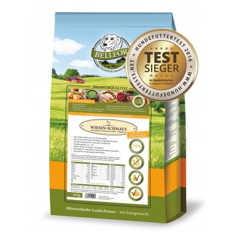 Wiesen-Schmaus - Huhn - Getreidefrei kaltgepresst (10 kg)
