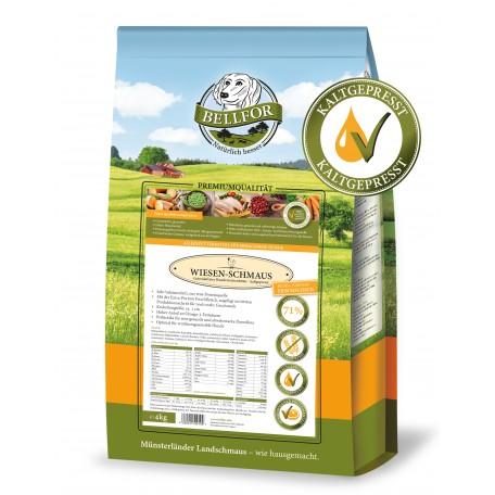 Wiesen-Schmaus - Huhn - getreidefrei kaltgepresst (4,0 kg)