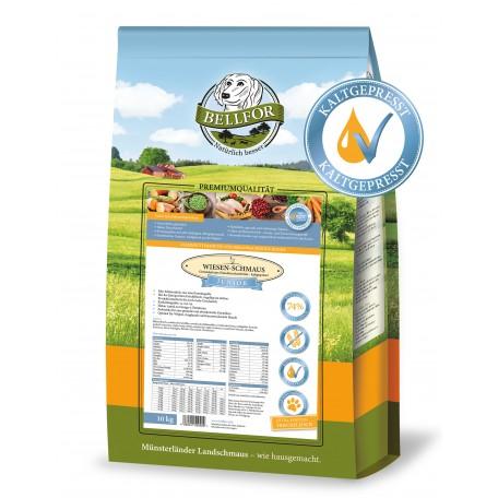 Wiesen-Schmaus Junior - Huhn - getreidefrei kaltgepresst (10 kg)