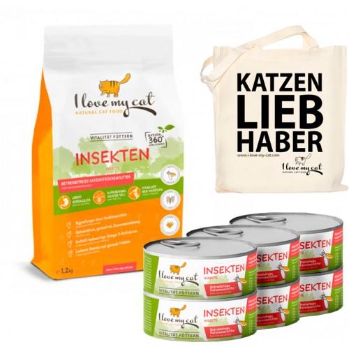 Gesundes Tierfutter mit Insektenprotein